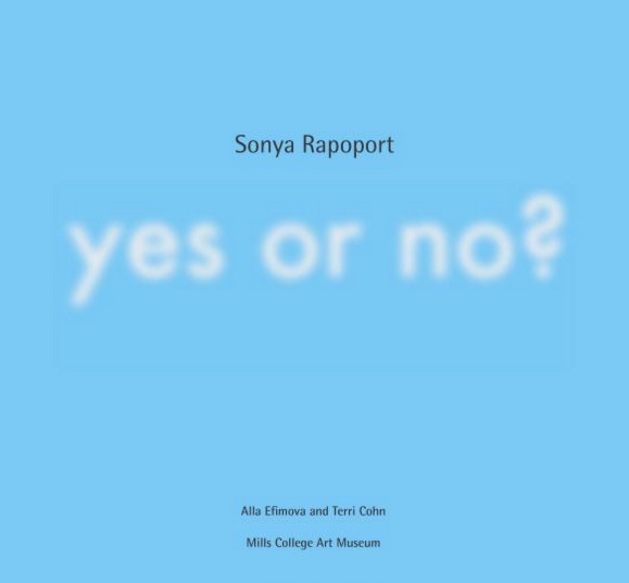 Yes_or_no_catalogue_cover_Sonya_Rapoport_SRLT